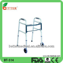 Aluminum Walker aluminum folding walker with seat